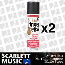 2x Fingerease Guitar String Lubricant Spray Finger Ease *SET OF 2 BOTTLES*