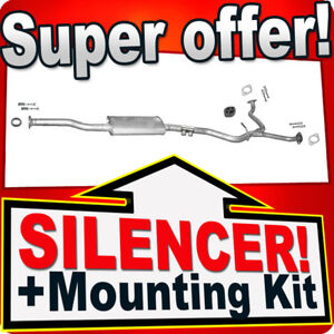 Middle Silencer for SUBARU LEGACY OUTBACK 2.5 165PS KOMBI 2003-2009 Exhaust