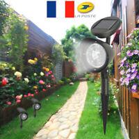 4 LED lumière solaire paysage extérieur d'inondation éclairage jardin cour Lampe