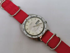 Vintage Seiko 6106-8100 Diver Automatic First Sports Diver Silver Dial - Working