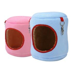 Hamster Pet House Cotton Bed Hanging Nest Cylinder Hammock Pet Cage