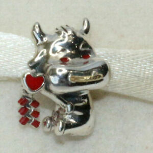 Genuine PANDORA Sterling Silver CUTE OX 2021 New Year, New Start Charm S925 ALE