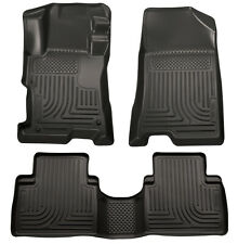 Husky Front & 2nd Seat Floor Liners Fits 2008-2012 Honda Accord 98401