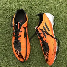 Adidas F50 Adizero Fg UK 7.5 Orange Noir