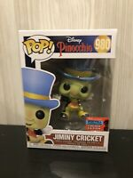 Disney Pinocchio Jimimy Cricket 2020 NYCC Exclusive Funko Pop