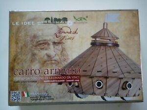 Le Idee di Leonardo da Vinci Carro Armato Modello in kit di legno da assemblare