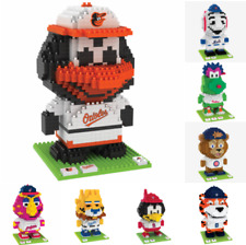 MLB Baseball 3D BRXLZ Mascot Puzzle Construction Block Set - Pick Team!