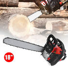 Gasoline Chainsaw Powered Chain Saws Gas Wood Cutting Engine Handheld Air-cooled