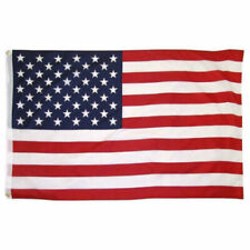 US Flag 3'x 5' FT USA American Stars Stripes United States Grommets Polyester
