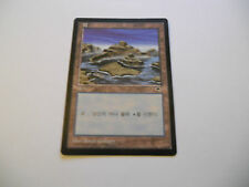 1x MTG KOREAN Island-Isola Magic EDH TEM Tempest Asian Art 316 Legacy x1
