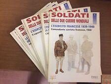 lotto 11 fascicoli soldati delle due guerre mondiali del prado