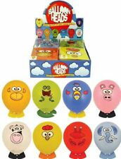 BALLOON HEADS Birthday Party Bag Fillers Toy Gift Prize Boy Girl Animal Sticker