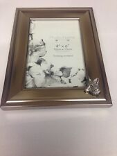 A6 Fox Head  PICTURE FRAME SILVER EMBLEM 6X4 , 4x6  HANG OR STAND