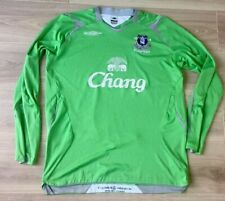 EVERTON SHIRT GOAL KEEPER JERSEY GK KIT ORIGINAL UMBRO SIZE LARGE.