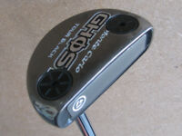 TOUR ISSUE TAYLORMADE MONTE CARLO GHOST TOUR BLACK PUTTER 35 INCH 15G SCREWS