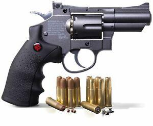 Crosman SNR357 CO2 Dual Ammo Full Metal Air Gun Pistol Revolver - BB & Pellet