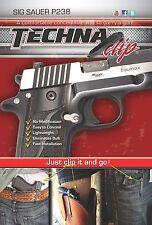 Techna Clip Sig Sauer P238 Concealed Carry IWB Pocket / Belt Clip  Holster