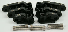 New Black Ignition Lead Wire Separators with Horizontal Mounts Suit 7-9mm 28-204