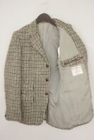 Hommes Harris Tweed Veste Blazer Écossais Laine EU50 UK/US40 M HA397
