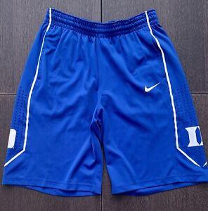Nike Duke Blue Devils Basketball Shorts Mens Sz L NCAA