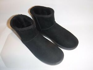 #9113 NEW UNBRANDED SOFT CASUAL FLEECE SUEDE BOOTS MEN'S SIZE 9