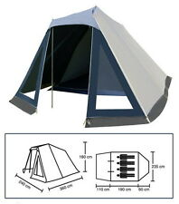 45407 Familienzelt für 4 Personen mit Vorzelt Zelt