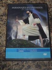 Personajes Secundarios DVD Por el Pastor Alejandro Bullon 2 DVDs RARE Religious