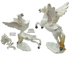 Pegasus Jeweled Trinket Box with Austrian Crystals