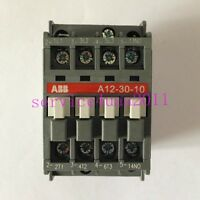 NEW  ABB AC contactor A12-30-10 AC110V  3 month warranty
