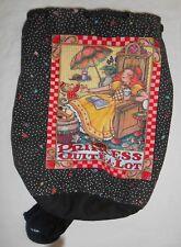 Mary Engelbreit The Princess of Quite A Lot Canvas Drawstring Bag