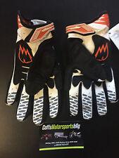M Medium Zac Speed Fusion MX Gloves Motorbike BMX Black Orange White suit KTM et