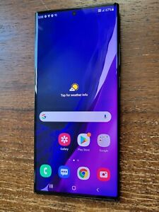 Samsung Note20 Ultra 5G SM-N986U (Unlocked/AT&T) 512GB Black - LIGHT LCD BURN