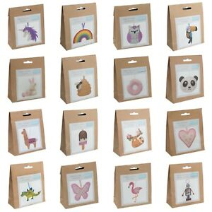 Trimits Felt Sewing Kit Hanging Decoration Ideal for Children over 3 / Beginners