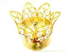 Beautiful Kamal Jyoti Brass Crystal Akhand Diya Deepak For Diwali Decoration
