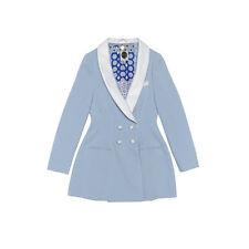 NWT Super Rare SRETSIS Beatrix Tuxedo Baron Blue Jacket US4/UK8