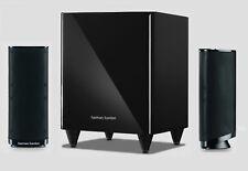 Harman Kardon HKTS 2 MKII Noir Neuf 2.1 Ls-système, comme HKTS 16 seulement comme 2.1