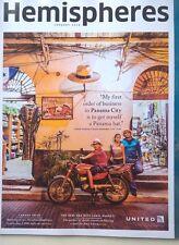 United Airlines Hemispheres Magazine - Three Perfect Days Panama City - Jan 2016