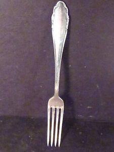 """Vintage German WMF64 .800 Silver  FORK 8"""" NM"""