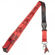 Star Trek Red Member U.S.S. Enterprise Officially Licensed Lanyard