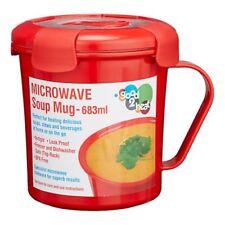 Good2Heat Microwave Soup Mug 683ml, BPA Free, Non Stick (4042)