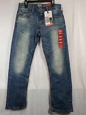 Signature by Levi Strauss Gold Label Boys Athletic slim Straight Jeans 14 (8a)