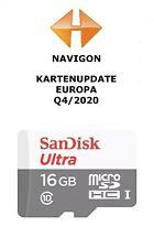 Navigon Kartenupdate Europa Q4/2020 + Blitzer 09/2020