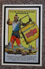 D.C. Cab Lobby Card Movie Poster Mr. T