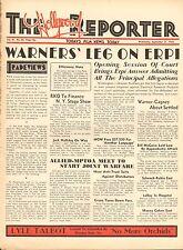 SEPT 21 1932 THE HOLLYWOOD REPORTER movie magazine - WARNERS' LEG ON ERPI