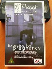 PREGGI BELLIES TRAINING FOR 2 - EXERCISE FOR PREGNANCY - VHS
