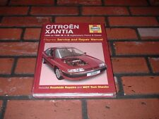 NEW AND SEALED HAYNES MANUAL FOR CITROEN XANTIA.1993-1998. K TO S REG.