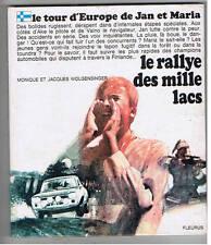 LE RALLYE DES MILLE LACS MONIQUE ET JACQUES WOLGENSINGER FLEURUS 1969
