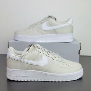 Nike Air Force 1 '07 'Light Bone' White Shoes CT2302-001 Men's US Size 11.5