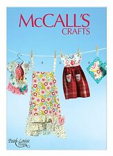 Sew & Make McCall's M6769 SEWING PATTERN Womens APRON CLOTHES PIN BAG POTHOLDERS