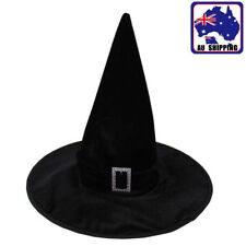 Black Fancy Dress Party Witches Hat Halloween Dance Wizard Hats CAHA52905